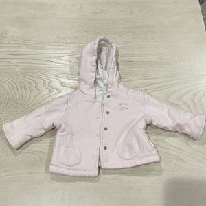 LITTLE ME 6-12MONTH RESERVABLE JACKET WITH HOODIE